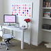 jen's home office by lauratrevey