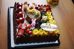 The 1st Birthday Cake