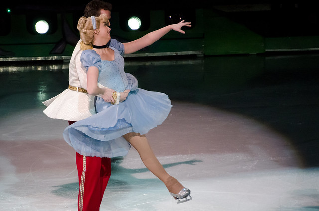 Cinderella Embraced By Prince Charming Ice Skating Flickr Photo Sharing