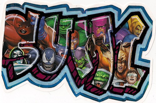 Marvel Villans Sticker