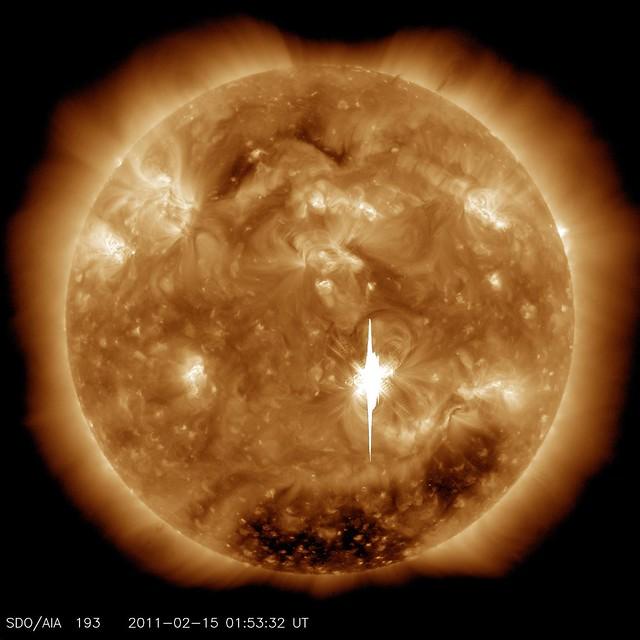 Big, Bright Flare