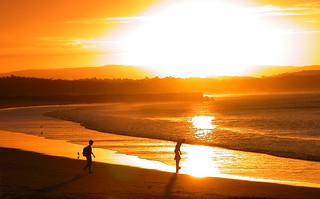 Sunset at Noosa, QLD, Australia
