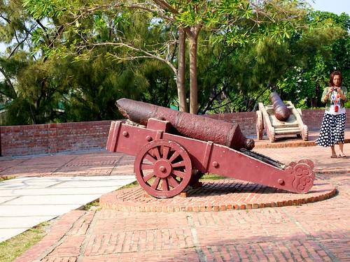 Broken cannon