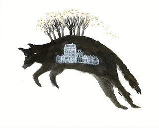 Leaping Wolf Houses