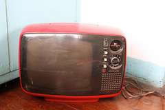 radio(0.0), bumper(0.0), television set(1.0), television(1.0), multimedia(1.0), electronics(1.0), screen(1.0),