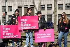 NYC supports Planned Parenthood