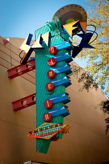 Sci fi diner disney s hollywood studios flickr photo sharing