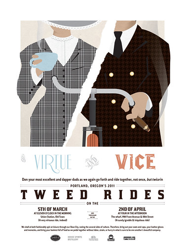 Tweed Rides 2011 - Of Virtue and Vice
