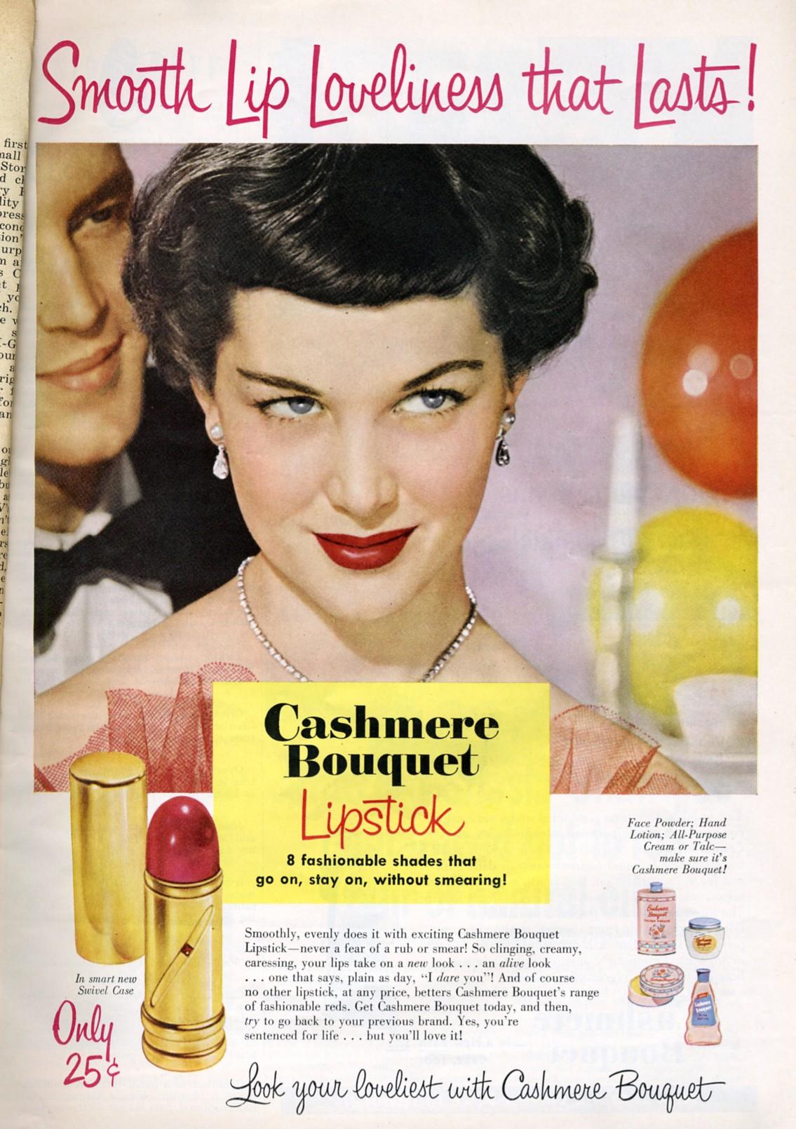 Cashmere Bouquet Lipstick 1950