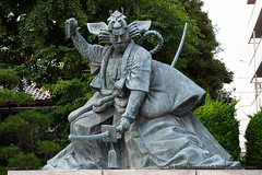 Samurai Warrior outside Sensō-ji Temple
