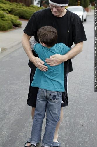 hug for grandpa jeff