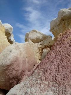 Holes, Paint Mines, Colorado