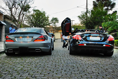 Mercedes SL65 AMG Black Series & SLR McLaren Roadster