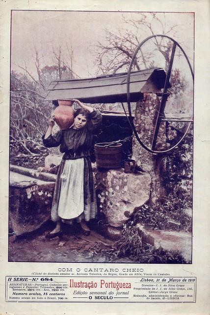 Ilustração Portugueza, Nº 684, Março 31 1919 - capa