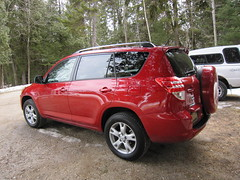 automobile, sport utility vehicle, vehicle, compact sport utility vehicle, toyota rav4 ev, land vehicle,