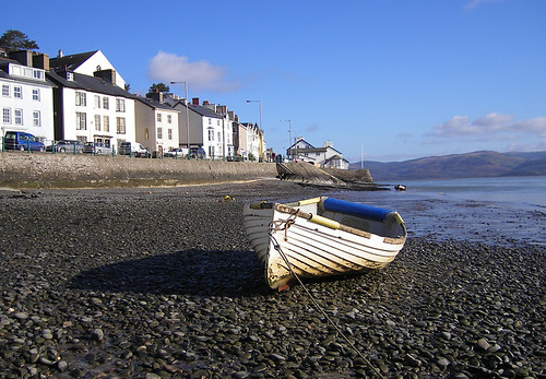 'Aberdovey and boat'