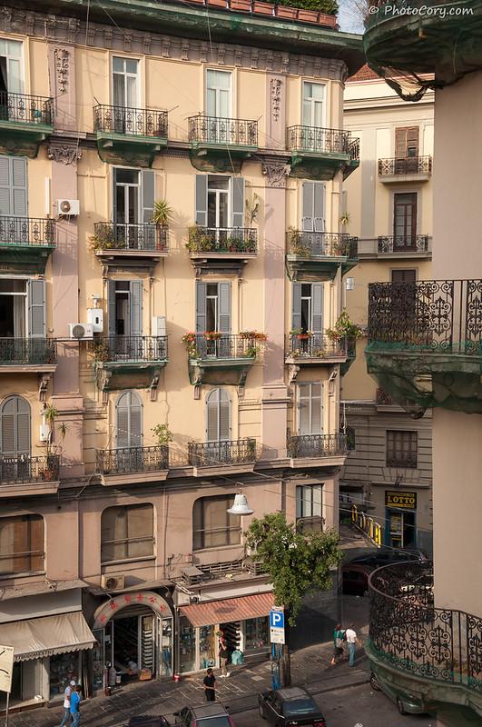 Building in Napoli