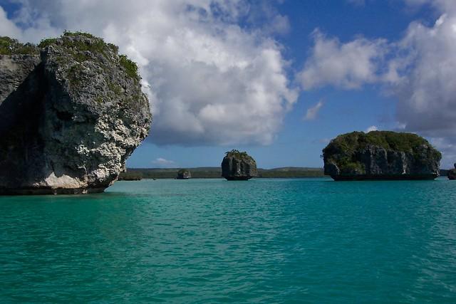 Nouvelle-Calédonie - Île des Pins - baie d'Upi