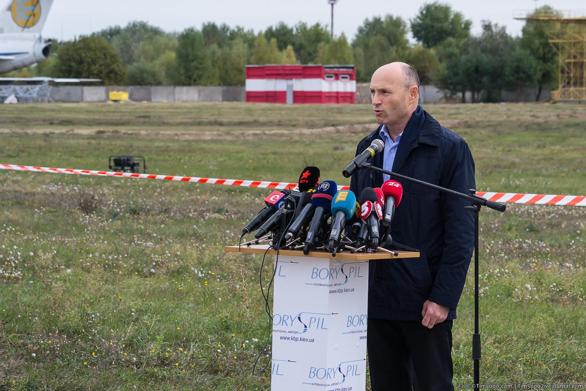 Руководитель аэропорта Борисполь Евгений Дыхне