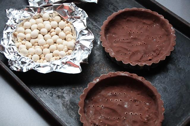 Blind Baking Tartelette Shells
