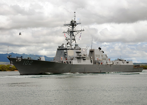 USS Sampson, HSM-35 to depart on Western-Pacific Deployment
