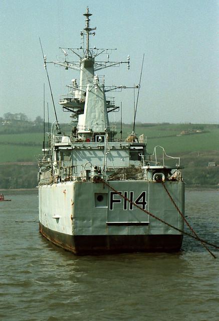 F114 HMS Ajax | Flickr - Photo Sharing!