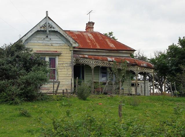 Old house, Te Kuiti, Waikato, New Zealand