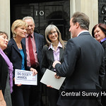 Central Surrey Health, first ever winners of the Prime Minister