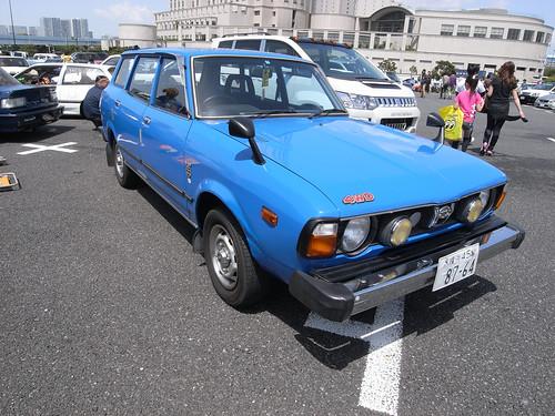 1972-1979 SUBARU LEONE VAN 4WD