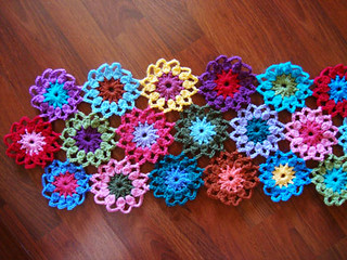 How to Crochet Hexagon Shaped Granny Square Type Motifs | eHow