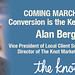 "Small photo of Alan Berg from The Knot ""Conversion is the Key"""