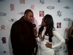 B.Taylor interviewed on the Red Carpet of the NBA Allstar BET's The Game celebrity event
