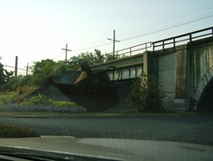 Giant Metal Watering Can, Staunton VA