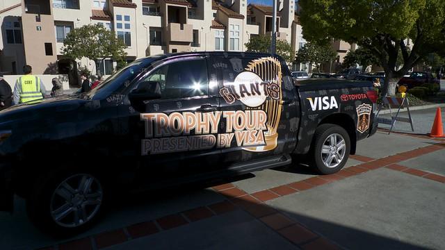 San Francisco Giants Trophy Tour