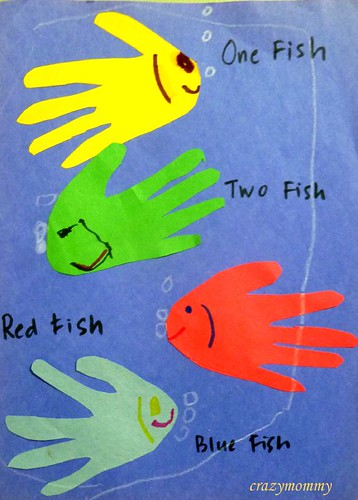 One fish two fish red fish blue fish template for One fish two fish red fish blue fish activities
