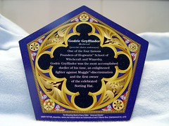 "Mar 02 2011 [Day 121] Bonus ""Chocolate Frog Collectible Wizard Card (Back)"""