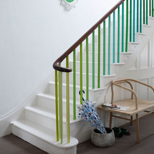 Green Stair Banisters Flickr Photo Sharing