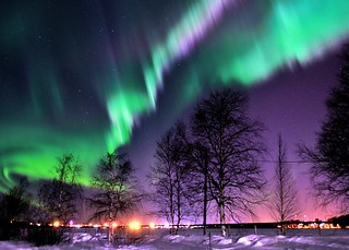 Northern Lights over Luleå [Explored - thank you!]