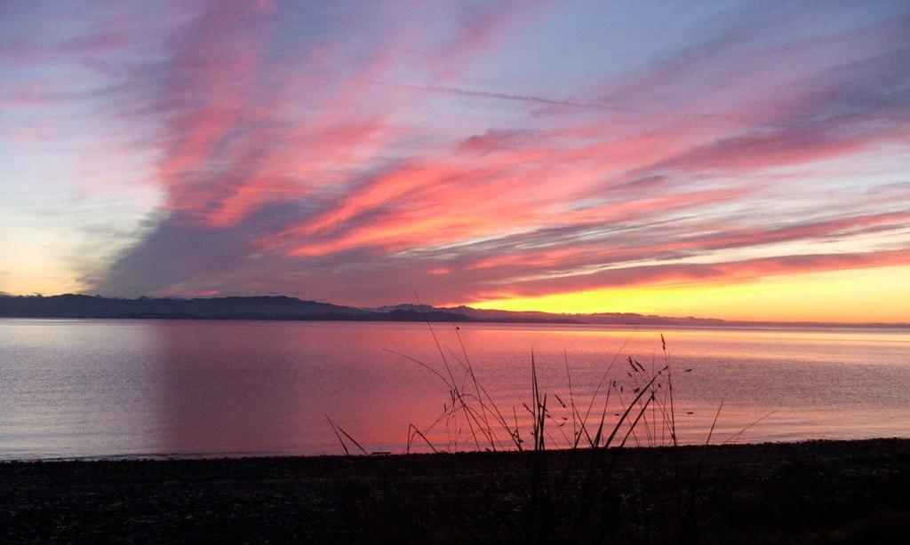 Sunrise at Sunny Beach
