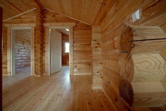 Interieur foto van een houten huis een perfecte afwerking meer informatie bezoek onze website - Meer mooie houten huizen ...