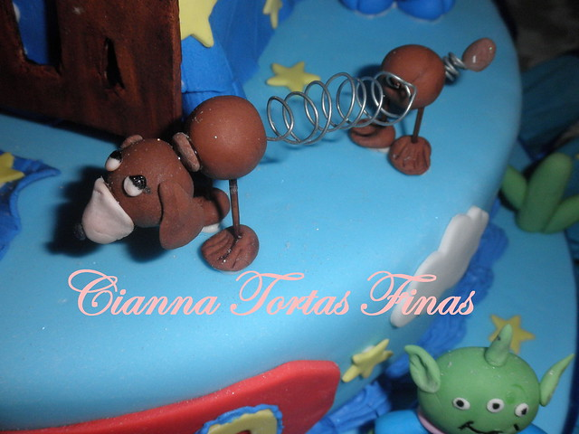 Toy Story Gum : Torta toy story flickr photo sharing