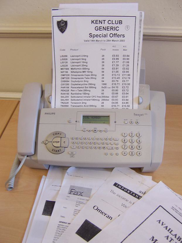 generic special offers and pharma price lists coming in to wavedata via fax to be added to wavedata live at wavedata.net