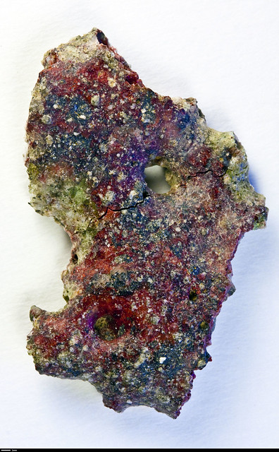 Red Trinitite The Typical Green Color Of Trinitite Is
