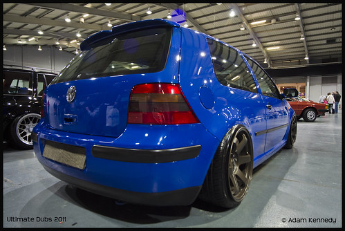 Blue Mk4 Golf @ UD 11