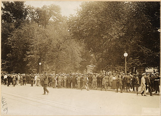Suffragists picket the White House. 7/14/1917