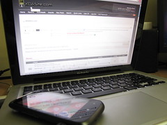 HTC 7 Mozart, Macbook Pro