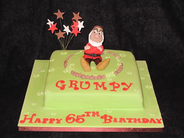 Grumpy Old man Cake! Flickr - Photo Sharing!