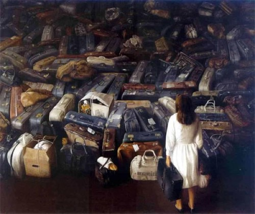 [ T ] Cristóbal Toral - Girl with the Pile of Suitcases
