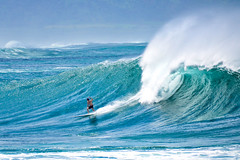 Surfs up ~ Waimea Bay by HawaiianVirtualTours