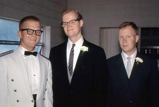 Lexington, Ohio - Brothers at Loyd's Wedding (1964)